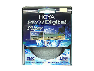 HOYA Pro1 Digital UV Filter 37, 40.5, 46, 49, 52, 55, 58, 62, 67, 72, 77, 82mm