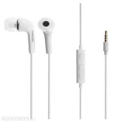Original Samsung White Handfree Earphone Earbud For Samsung Galaxy S7 and Tablet