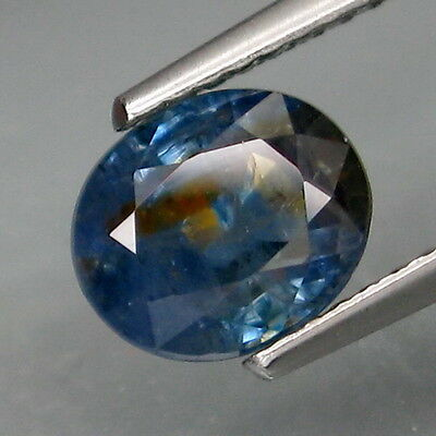 2.23Ct.Ravishing Color! Natural Top Blue Normal Heated Sapphire Africa