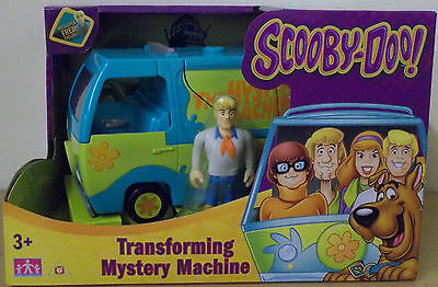 Scooby Doo ~ Mystery Vehicle ~ Transforming Mystery Machine Inc Fred Figure