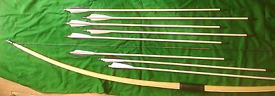 English Longbow 25 -49lb Bamboo Maple Lemonwood belly bow only made in 7-8 weeks