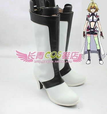 CROSS ANGE Ange Salia Ersha Hilda Vivian cosplay shoes Boots Custom Made 4245