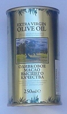 EXTRA VIRGIN OLIVE OIL PURE from our Family Farm in CRETE Isl, GREECE 250 ml