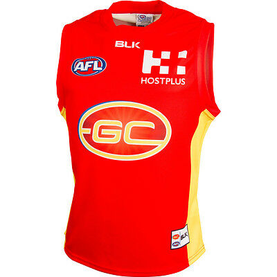 Gold Coast Suns 2016 Home Guernsey Sizes S - 5XL Adults BLK SALE