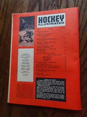 Hockey Illustrated December 1966 NHL Original Six (Last Year before Expansion)