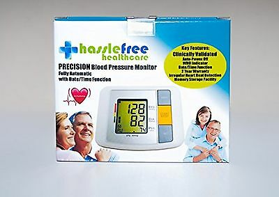 Fully Automatic Digital Upper Arm Blood Pressure and Pulse Monitor
