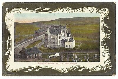 DUNBAR Belle Vue Hotel & Golf Links, Postcard by Scott, Albany Series, Sent 1911