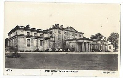 GATEHOUSE OF FLEET Cally Hotel, RP Postcard by Frith Unused