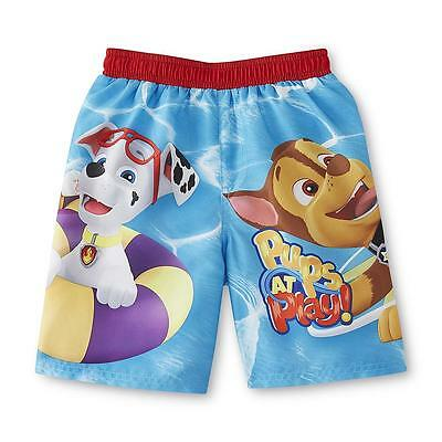 Nickelodeon 3T Paw Patrol Rashguard Swim Trunks Toddler Boy Clothes