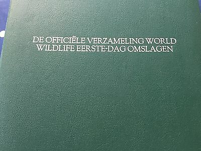 WWF 144 different FDC covers the official WWF collection in pristine book 4 kilo