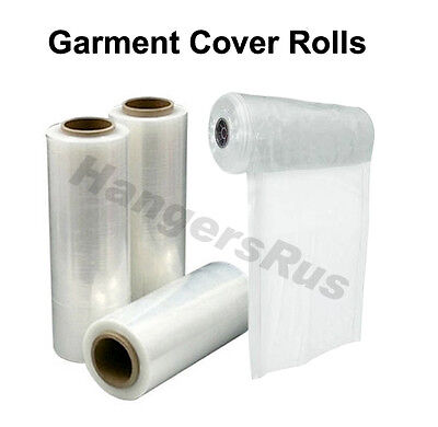 Polythene Garment Covers Dry Cleaners Bags Dress And Suit Cover Rolls