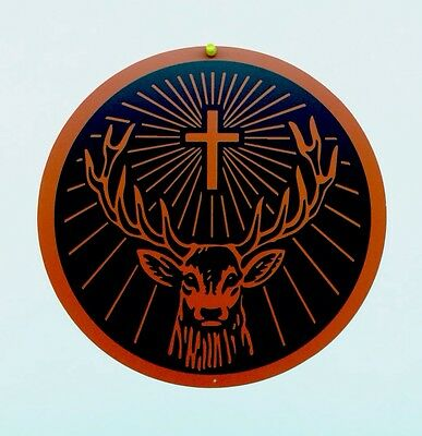Jagermeister Deer 12 Inch Tin Sign