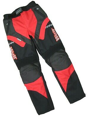 Cub alpina motocross motorbike road rally trail red trouser pants