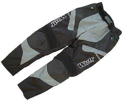 Cub alpina motocross motorbike road rally trail grey trouser pants