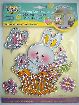 Pkg. Of 5 Easter/spring 3D Peel 'n Stick Stickers Window Decorations ~ #2