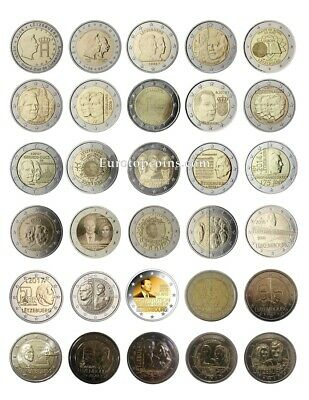 #Rm# 2 Euro Commemorative Luxembourg (2004-2020) - All Pieces - Please Choose