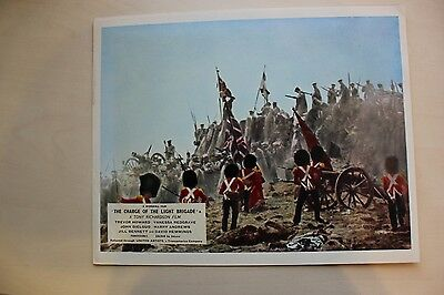 The Charge Of The Light Brigade - Uk Foh Lobby Card #3