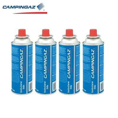 4 X Campingaz CP250 Bistro Resealable Camping Gas Cartridges 250g Canisters