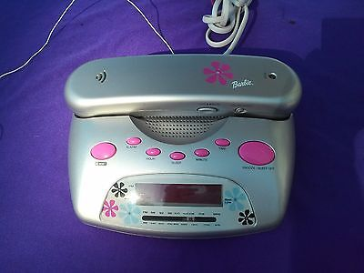 Barbie Working Home Phone/alarm Clock Radio For Girls