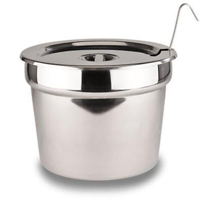 Nemco Counter Top Warmer 7Qt Inset, Cover & Ladle Set - 66088-8