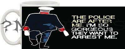 Father Ted Dvd Inspired The Police Are After Me Mug *great Gift* Uk Seller