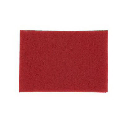 Scotch Brite Rectangle Floor Buffing Pad Red 14 L X 28 W