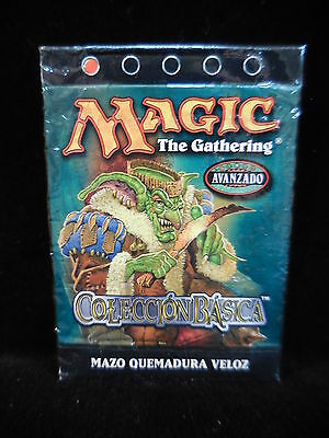 Mazo Quemadura Veloz cartas Magic coleccion basica octava edicion