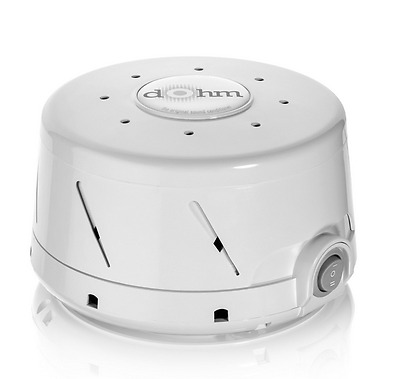 Marpac DOHM-DS Natural White Noise (Actual Fan Inside) Sound Machine, White