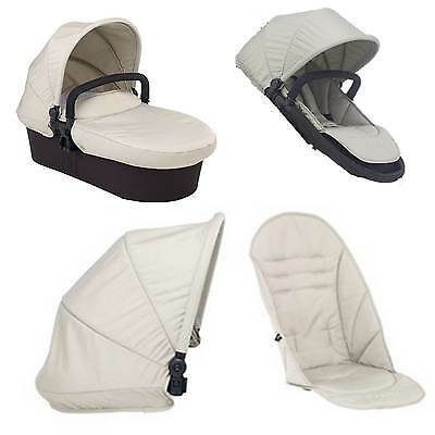 iCandy Strawberry 2 DUNE Colour Pack Hood Seat Liner Apron for Carrycot NEW
