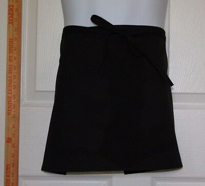 Half Bistro Waist Apron (with or without pockets)