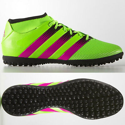 f2b256f5b85 adidas Ace 16.3 Primemesh TF Football Boots Astro Turf Green ~ SIZE 7 ~ TO  CLEAR