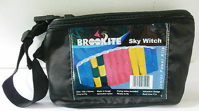 Brookite Sky Witch Dual Line Power Kite New In Carry Bag Last One