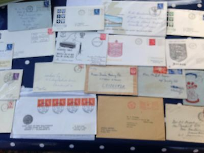 GB UK FDC's , early covers and celebration of last day of 1/2 p stamps !!!!!