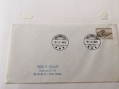 Greenland a selection of FDC first day covers from 1973 - 1975 fine lot
