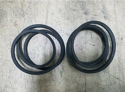 (2) Sitrex 5' Finish Mower Belts Model SM150 Part #600.139 USA Made!!!