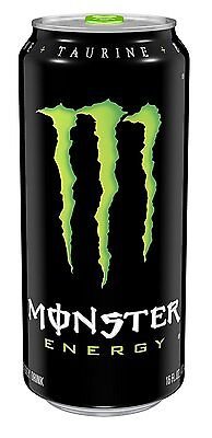 Monster Energy Drink, 16 Ounce Pack of 24