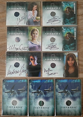LOST Series Premium Pieceworks / Propworks Autograph Trading Card Season 1 2 3