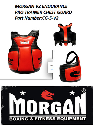 Morgan chest guard boxing body shield organ protector abdominal ribs kick pad