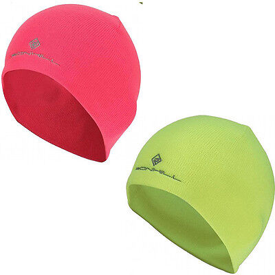 Ronhill Classic Running Beanie - fluro pink (one size)