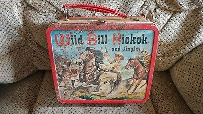vintage lunch pail Wild Bill Hickok and Jingles Lunch box