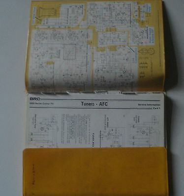 Thorn 8000 Series  Colour Television  Service Manual