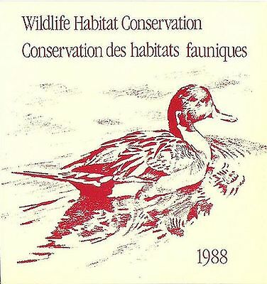 Canada, Federal Wildlife Habitat Conservation Booklet, FWH4, Pintails