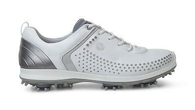 ECCO lady Golf Biom G2 Spike shoe, white-silver, Gr 40, UVP 200€