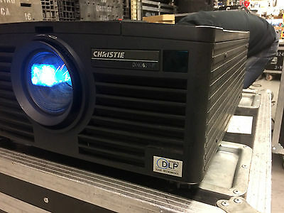 Christie Digital DHD670 5800 Lumen Digital Projector HDMI Video Pro 1.5-2.0:1
