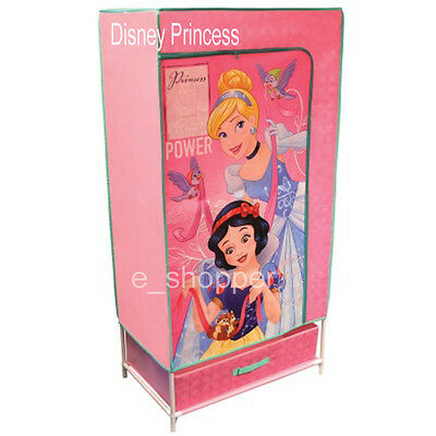 Disney Princess Kids Canvas Wardrobe