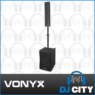 Vonyx VX1200 2 Way Full Range PA Speaker System with a 12 inch Subwoofer