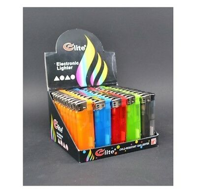20 LED Color Disposable Butane Cigarette Cigar Lighters Bulk Refillable