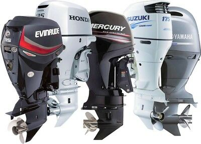 Mercury Mariner 4Hp 5Hp 6Hp 4 Stroke Workshop 4 5 6 Hp Service Manual Outboard