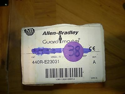 NEW IN BOX!! Allen-Bradley Guard Master 440R-E23031