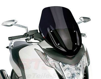 Windschild Puig V-Tech Sport schwarz Honda NC700 Integra-NC750,NC700 Integra,ABS